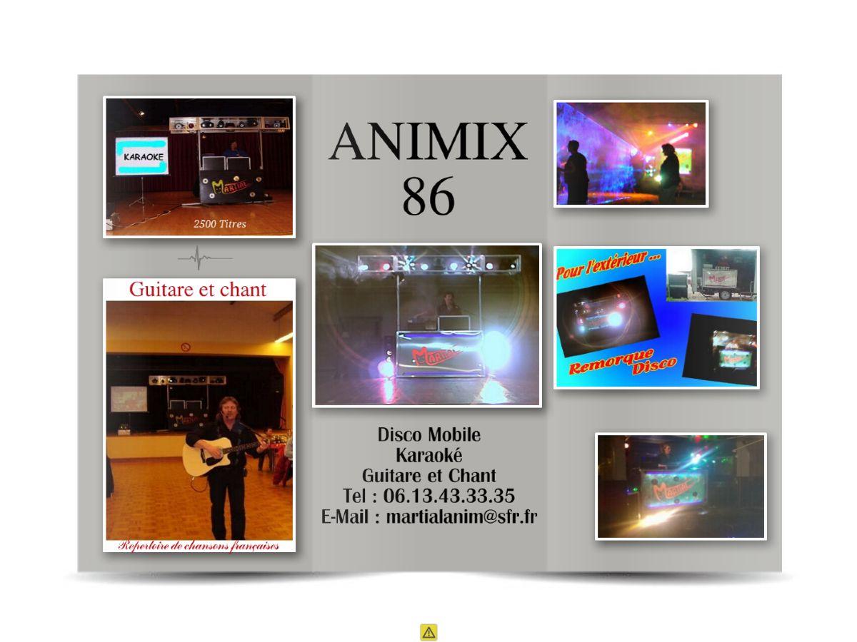 Brochure animix 86 ext